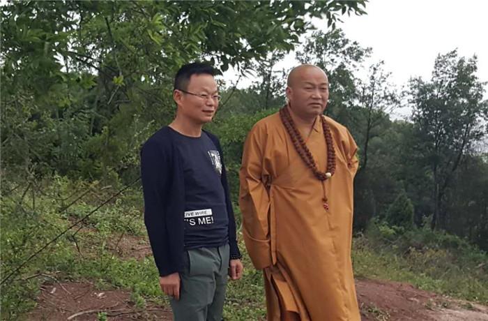 佛教高僧参观